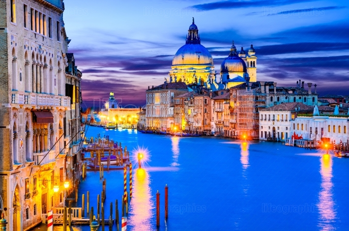Venice, Grand Canal, Italy