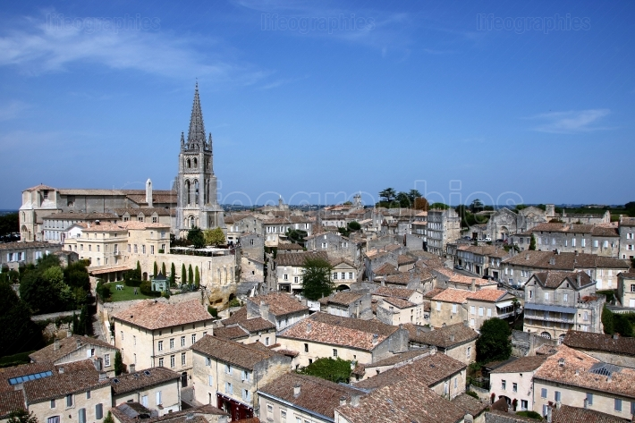 View of Saint Emilion