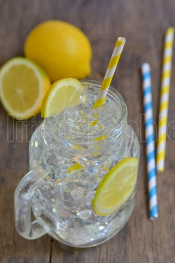 Water with lemon