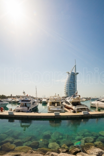 Yachting club near Burj al Arab, Dubai