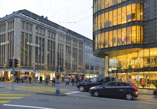 Zurich decorated for Christmas