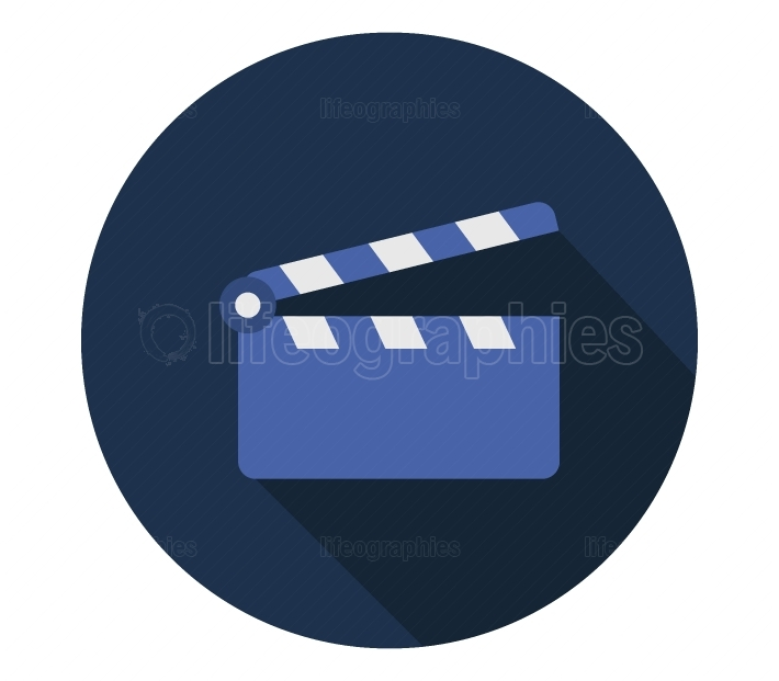clapperboard icon