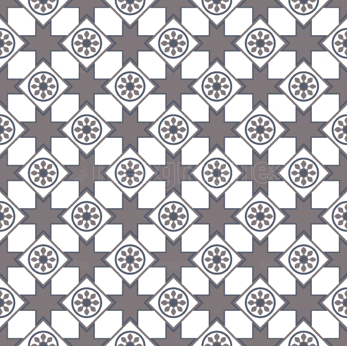 Elegant arabic tile pattern