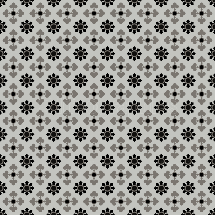 Floral seamless tiles pattern