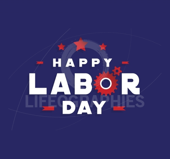 Happy Labor Day vector design elements icon label badge