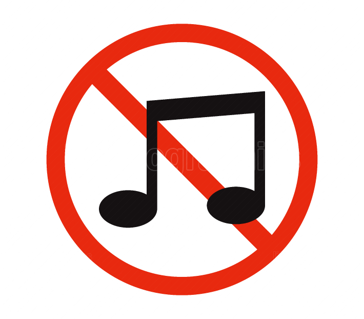no music icon
