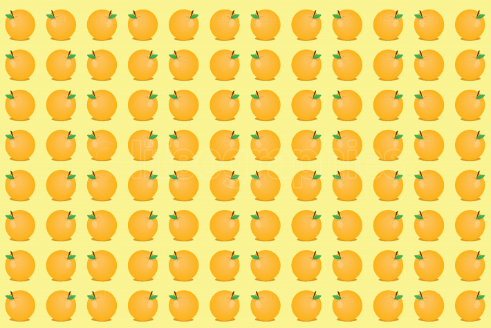 Orange pattern background