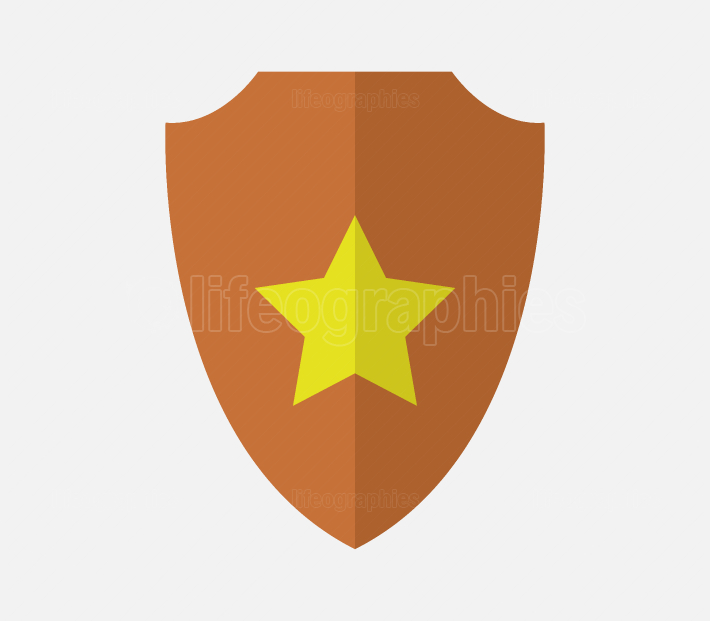 shield icon with star