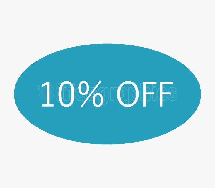 icon 10% off