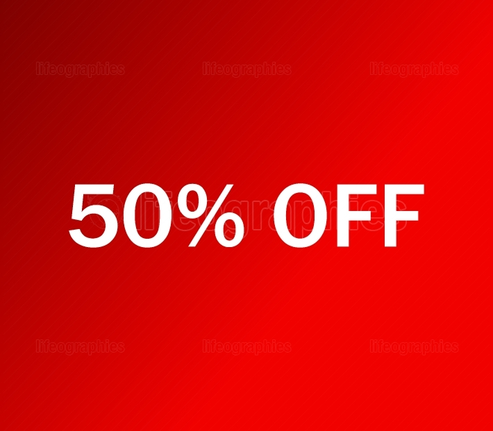 icon 50% off