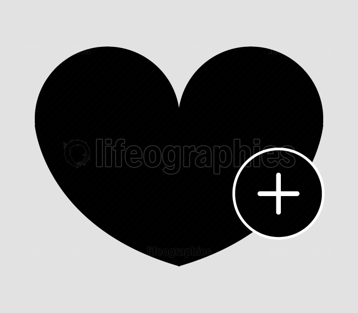 add heart icon